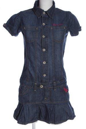 Vingino Jeans Robe en jean bleu style décontracté