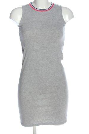 Vingino Jeans Vestido de tela de sudadera gris claro-negro moteado look casual