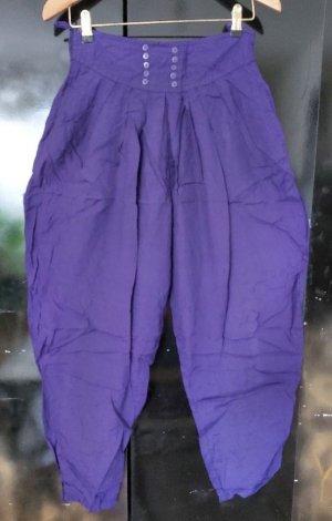 Felt Pantalón boyfriend violeta oscuro Viscosa
