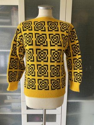 Vintage 1980er Jahre Pullover Gr S top