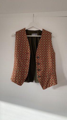 Uli Knecht Waistcoat multicolored
