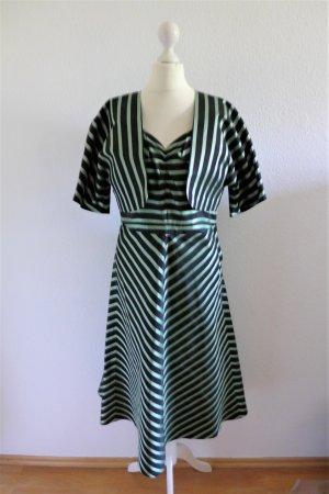 Vintage A-lijn jurk veelkleurig