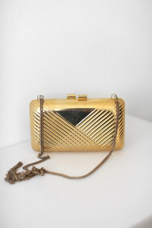 beclaimed vintage Clutch gold-colored