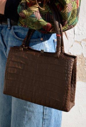 Vintage 60s Leder Handtasche