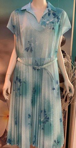 Adler Sukienka midi biały-turkusowy