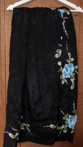 Wraparound Skirt black