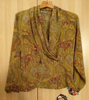 Vintage 80's  EVA DONNA Hemd