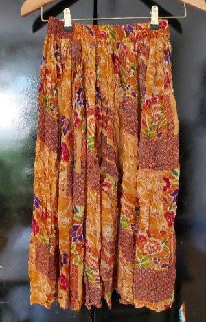 Giorgio Kauten Jupe à plis multicolore polyester
