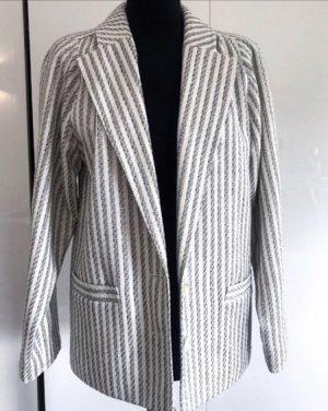 Vintage Blazer unisex blanco-gris