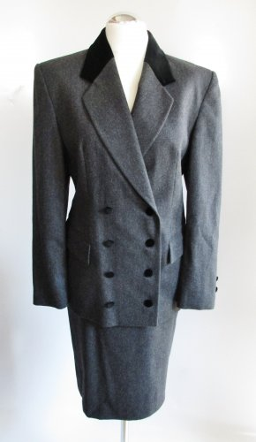Vintage Tailleur multicolore Lana vergine