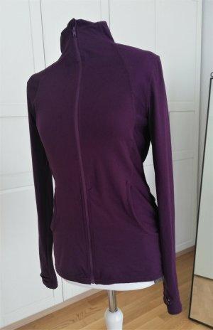 Vintage Sports Jacket brown violet-blackberry-red