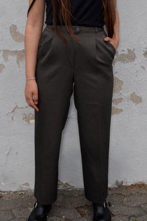 Vintage Luźne spodnie Wielokolorowy Wełna z alpaki