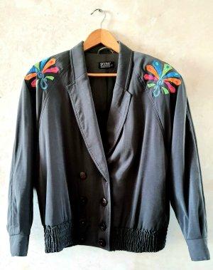 Vintage 80s Blouson Jacket 42