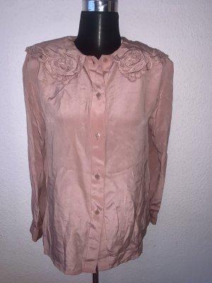 Vintage Blusa taglie forti multicolore