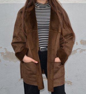 True Vintage Abrigo corto multicolor