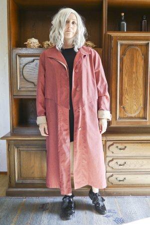 True Vintage Oversized jas roze-licht beige Polyester