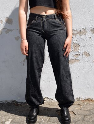 True Vintage Workowate jeansy Wielokolorowy