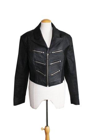 Vintage 90s cropped leather Jacket
