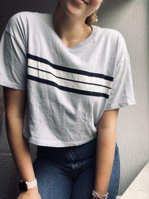 Pull & Bear T-shirt court bleu azur