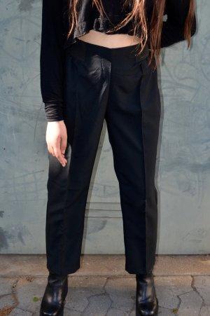 Vintage Baggy broek zwart
