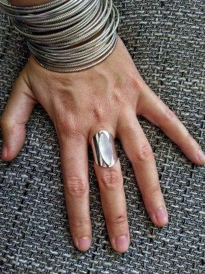 925 Anello d'argento multicolore