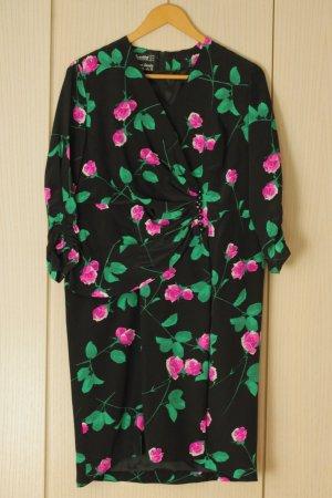 Vintage-Abendkleid aus reiner Seide 80er Jahre