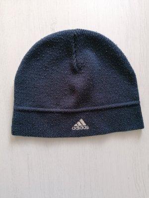 Adidas Sombrero de tela blanco-azul oscuro