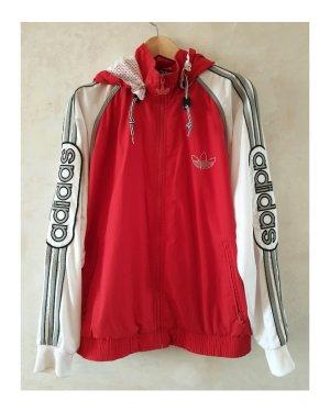 Adidas Veste de sport blanc-rouge