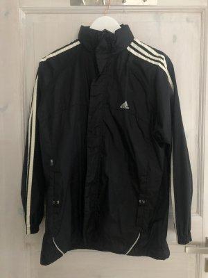 Adidas Cortaviento negro-blanco