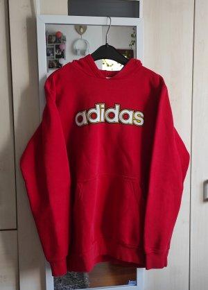 Adidas Sweter oversize czerwony