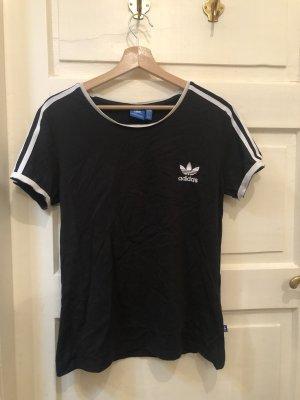 Adidas Top deportivo sin mangas negro-blanco