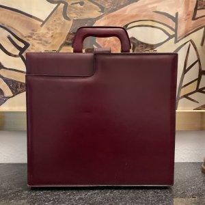 Briefcase multicolored leather