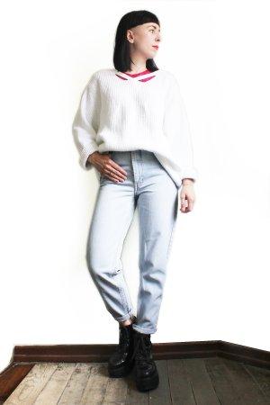 Vintage Alba Moda Oversize V-Neck Sweater