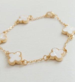 Bracelet gold-colored-natural white