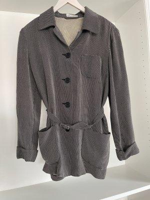 Dibari Tailleur pantalone nero-grigio chiaro