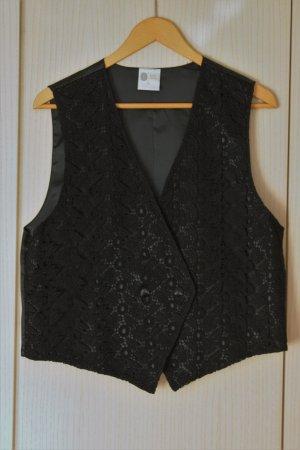 Sixth Sense Gilet de costume noir polyester