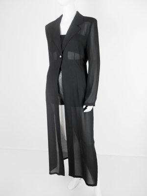 Apart Impressions Blouse longue noir fibre synthétique