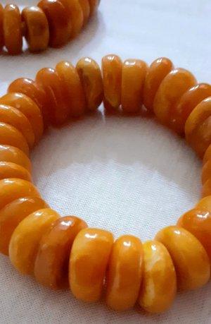 Bracelet orange doré-orange clair
