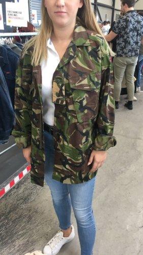 Veste militaire multicolore