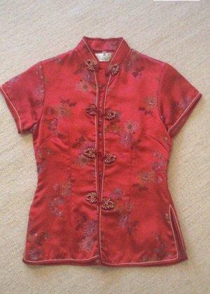 Vintage Silk Top multicolored