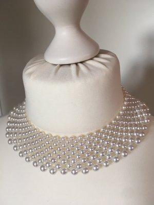 Vintage aus den 1970er Jahren: Perlen Collier Kunstperlen