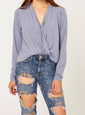 American Vintage Blouse Top light blue