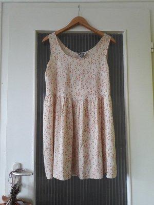 Vintage Babydoll Kleid Blümchenkleid/Tunika