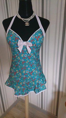 Vintage Badeanzug (50112) Swimdress Größe XXL = 44 von Belsira