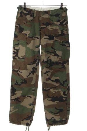 Vintage Baggy Pants Camouflagemuster Casual-Look