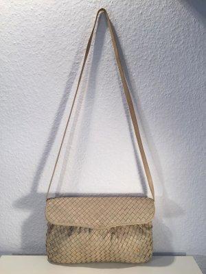 Vintage BALLY Handtasche geflochtenes Leder