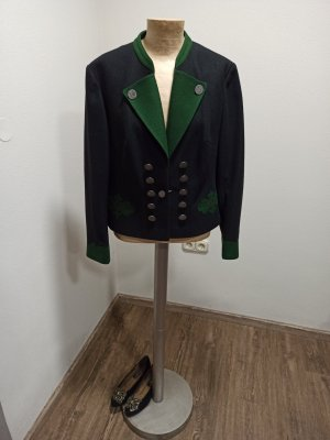 Vintage Giacca tradizionale multicolore Lana