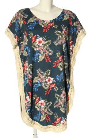 Vintage Bazaar Lange blouse bloemenprint casual uitstraling