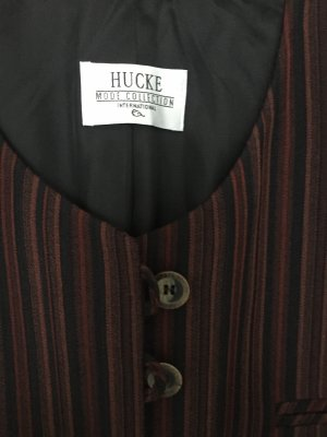 Hucke Blazer in lana multicolore