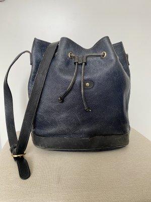 Aigner Pouch Bag dark blue